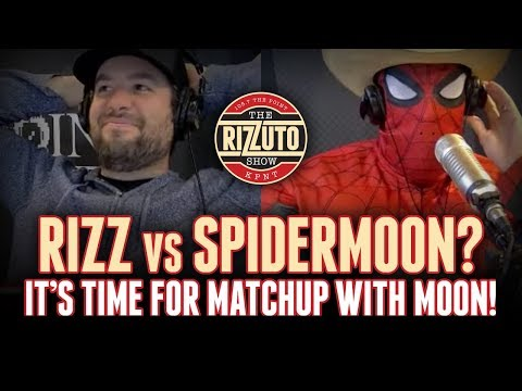 RIZZ vs SPIDERMOON in a new round of Matchup Wth Moon! [Rizzuto Show]