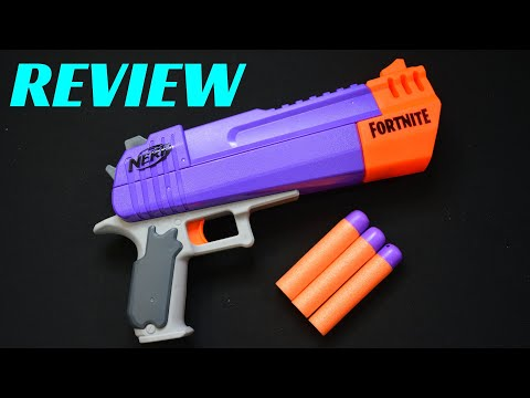 [REVIEW] NERF FORTNITE Mega HAND CANNON HC-E (A Nerf Desert Eagle)