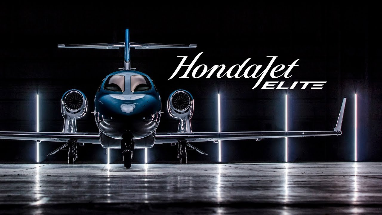 introducing hondajet elite youtube