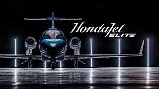 Introducing HondaJet Elite