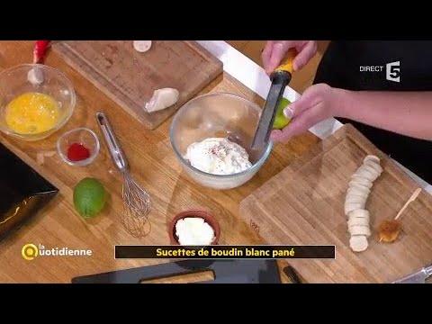 Coup D'food : Sucettes De Boudin Blanc Pané
