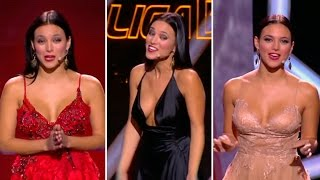 Los 3 ESPECTACULARES escotes de ELISA MOULIAÁ, presentadora...