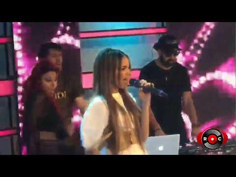 Leslie Grace Ft Farina - Lunes A Jueves (Mega TV, Chile) [RumbaComercial.Com]