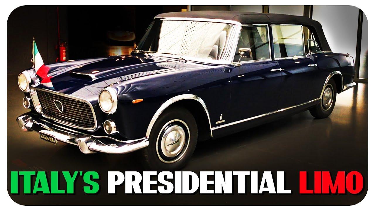 Italy's Presidential Lancias