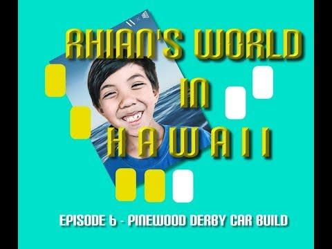 Episode 6 - Pinewood Derby Car Build 2018