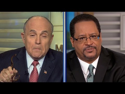 Rudy Giuliani: White Cops Are Needed Because Black-On-Black Violence!
