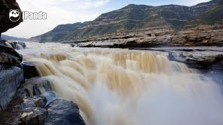 Ariel view of China — Hukou Waterfall | iPanda
