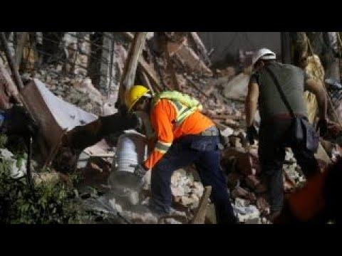 Mexico earthquake: Rescuers scramble to save victims