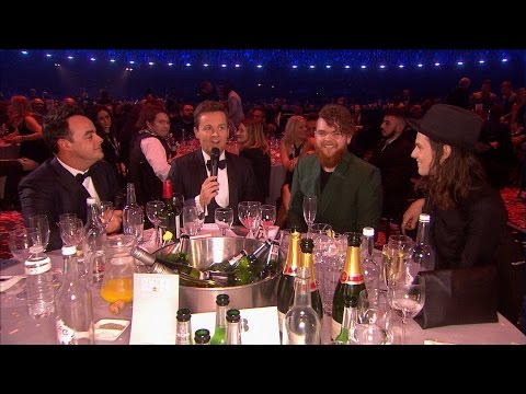 Ant and Dec interview Jack Garratt and James Bay l The BRIT Awards 2016