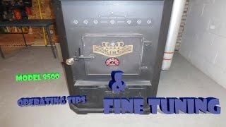Us Stove Model 8500 Operating Tips & Fine Tuning