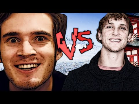 How to (respect) Japan: Nice-guy Pewdiepie VS Low-down Logan