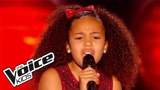 The Voice Kids 2015 | Amandine - Mercy (Duffy) | Blind Audition