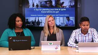 SfB Broadcast: Ep. 51 Five tips for planning your time at Ignite thumbnail