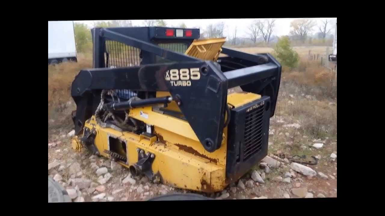 New Holland Lx885 Skid Steer For Sale
