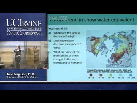 Earth System Science 21. On Thin Ice. Lecture 08. Outlook For Snow
