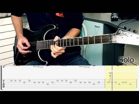 METALLICA - Now That We're Dead Full Guitar Lesson w/ TABS [HD]