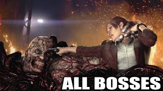 Resident Evil Revelations 2 - All Bosses (With Cutscenes) HD