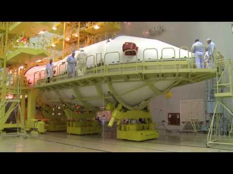 Сборка головной части для обсерватории «Спектр-РГ»