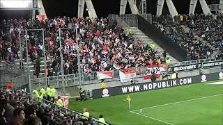 Amiens sc / AS Monaco ambiance après le but monégasque