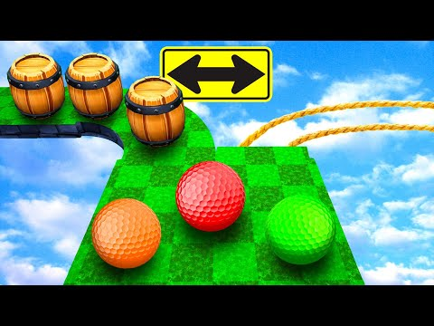 I Got DOUBLE TROLLED In Golf It!