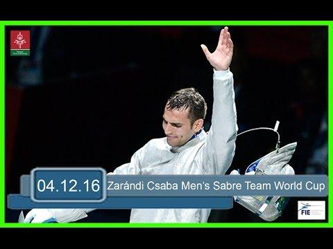 Győr 2016 Men's Sabre Team World Cup - Piste Green