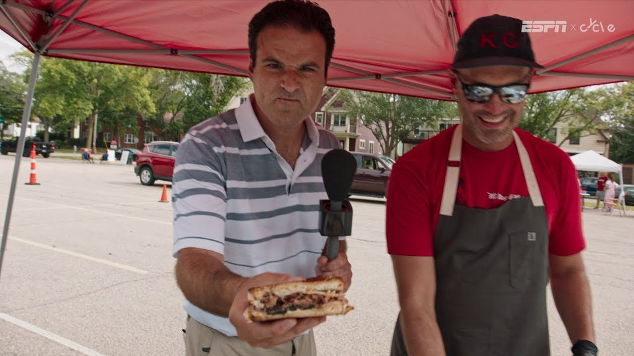 Wisconsin football fans teach Darren Rovell how to tailgate like a Badger | The Tailgater