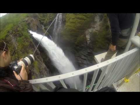 Bungee jump 153m Kåfjord,Norway! Goprohero3
