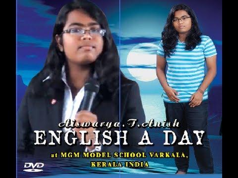 English A Day By Aiswarya T Anish at MGM MODEL SCHOOL,VARKALA,KERALA,INDIA