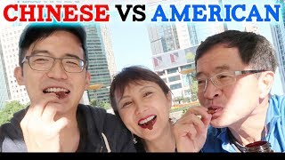 Crazy Chinese Snack Food Challenge with my Parents! Shanghai China Cuisine Episode