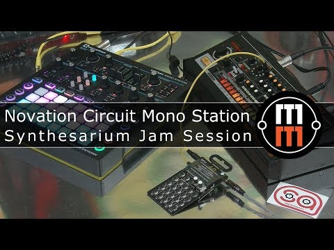 Novation Circuit Mono Station -  First Jam At Synthesarium