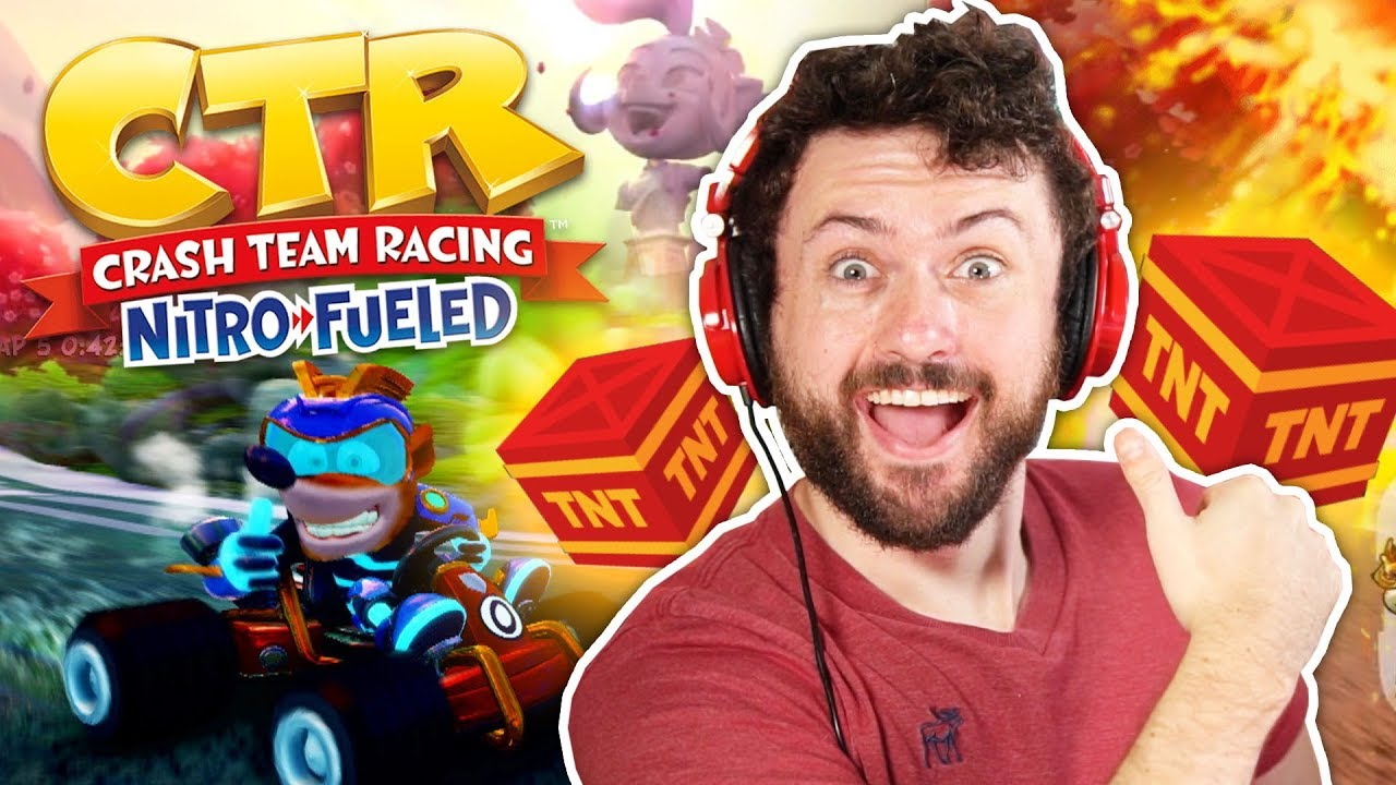 THANKS, I HATE IT!   Crash Team Racing: Nitro Fueled w/ The Derp Crew