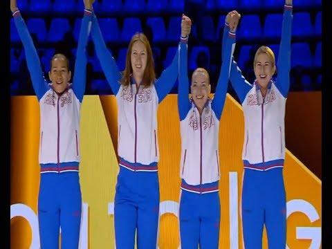 Сборная России завоевала золото чемпионата мира благодаря победе Инны Дериглазовой