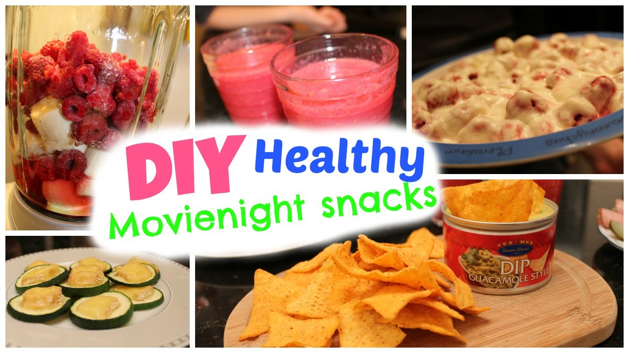 Diy easy healthy snacks movie night treats youtube for How to make homemade healthy snacks
