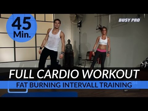 45 Min. Cardio Aerobics Intervall Workout I High Intensity (HIIT) Training by Dr. Daniel Gärtner ©