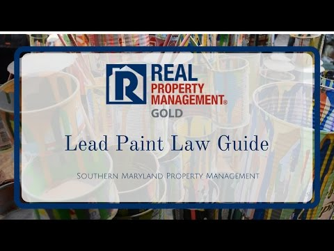 Lead Paint Law Guide: Best Practice Tips for Every Southern Maryland Home Owner