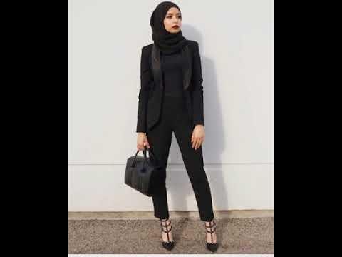 Model Baju Kerja Muslim Modern Terbaru Modis Dan Gaul 2017 Youtube