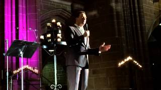 "Russell Watson - ""Empty Chairs at Empty Tables"" - Liverpool Cathedral, 13.12.2014."