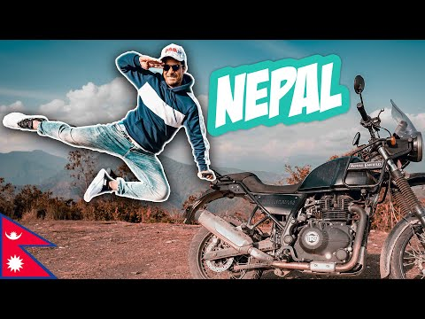 MY FIRST INTERNATIONAL BIKE RIDE | NEPAL