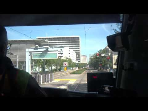 Riding the METRORail Red Line in 1080p to Downtown Houston