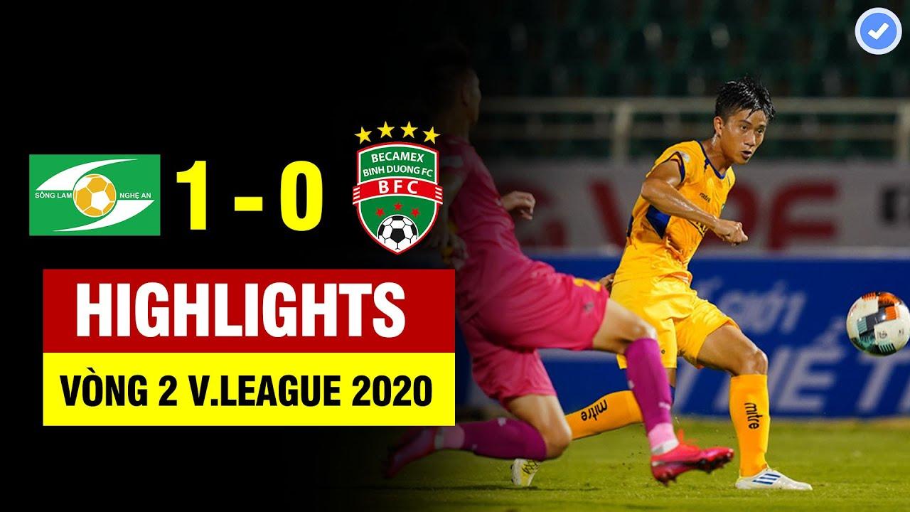 Highlights SLNA 1-0 Bình Dương | Phan Văn Đức lập tuyệt phẩm đánh đầu như CR7 nổ tung sân Vinh