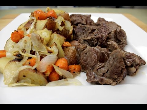Pot Roast With Potatoes, Carrots, And Onions