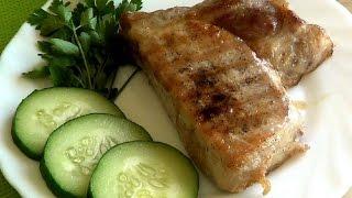 ♥ Стейк из свинины ♥ Как приготовить идеальный стейк | Рецепт | Свинина | Сковорода гриль | Рецепты