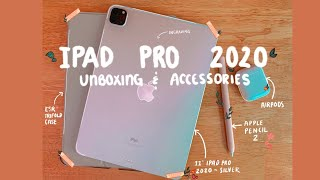 "iPad Pro 2020 11"" unboxing + accessories 