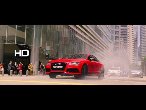 Hitman Agent 47 : Car Chase Scene HD