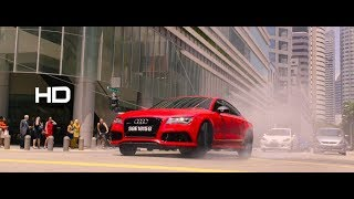 Hitman Agent 47 : car chase scene HD
