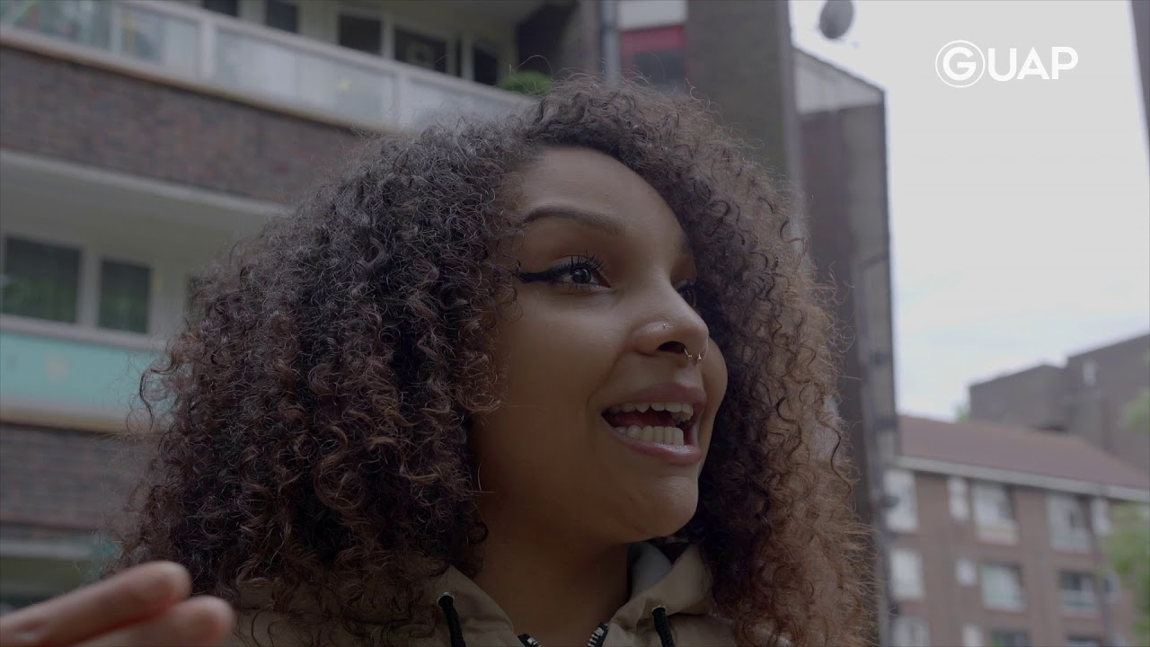 Temi Mwale is helping to make a safer place for young people with the 4front project || GUAP Meets