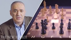 Chess Grandmaster Garry Kasparov Replays His Four Most Memorable Games   The New Yorker