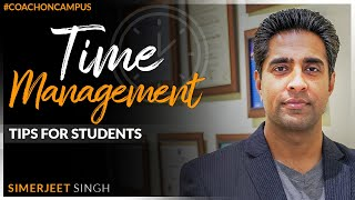 Time Management for Students | How to manage your time better? | #COC@MGN | Hindi English Video