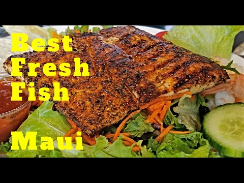 Paia Fish Market Kihei Maui. Best Value. Best Fresh Fish. Very Popular