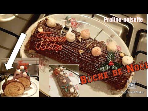 🌰-recette-de-bûche-de-noël-au-praliné-noisette-et-au-chocolat-(-facile-à-réaliser-en-famille-!-)